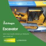 Escavator CAT JUCARIE